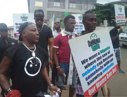 Charly Boy protest - It's no crime for the President to be sick!,  Buhari's kinsmen tell hit #ReturnorResign protesters
