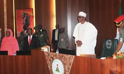 Buhari, ministers hold valedictory FEC session today