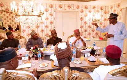 Ministerial list: Buhari, NASS leadership meet in Aso Rock - Vanguard News