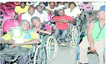 •Persons living with disability
