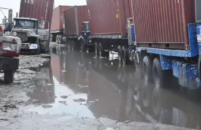 Outrage over continued neglect, degeneration  of Apapa