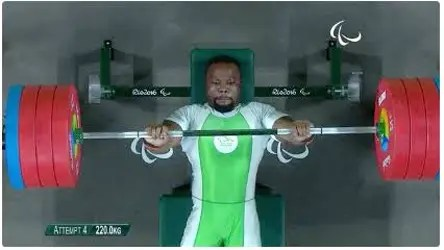 My target now is to set an unbreakable record in powerlifting, Paralympian says