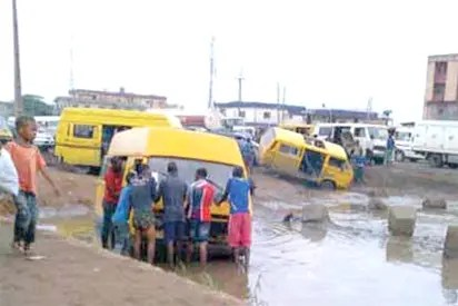 Image result for Nigerians want Mile 2-Badagry expressway fixed