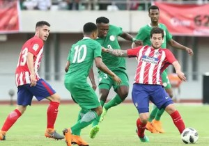Nigeria vs Atletico Madrid