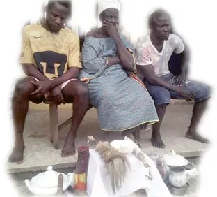 Priestess, 2 sons arrested over kidnap of applicants