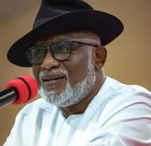 Akeredolu, education