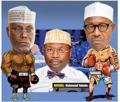 (Breaking) Atiku vs Buhari: Secondus, Ngige storm court, await judgment