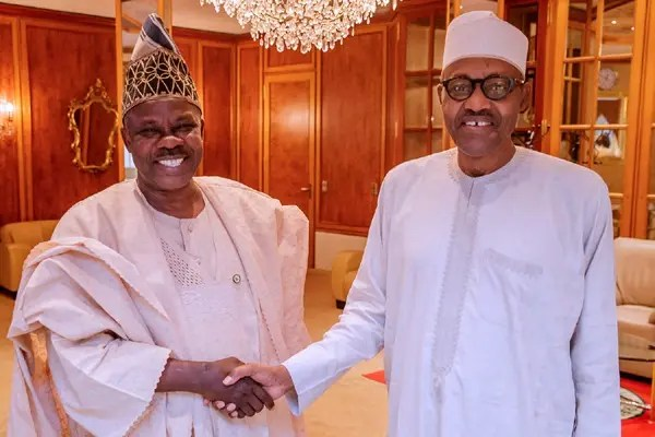 Buhari Felicitates Sen. Amosun At 62