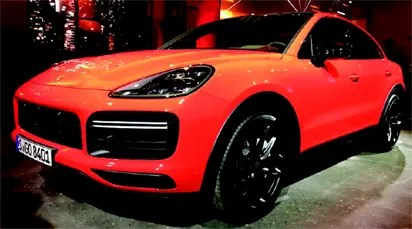 Porsche Centre Lagos welcomes third generation cayenne