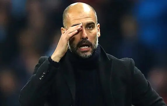 Guardiola  Guardiola beats Klopp to manager of the year award #Nigeria Guardiola e1555596960869