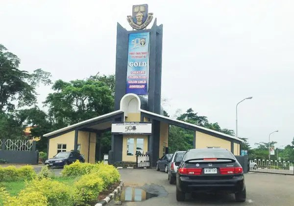 Main Entrance, OAU. Photo: Vanguard News