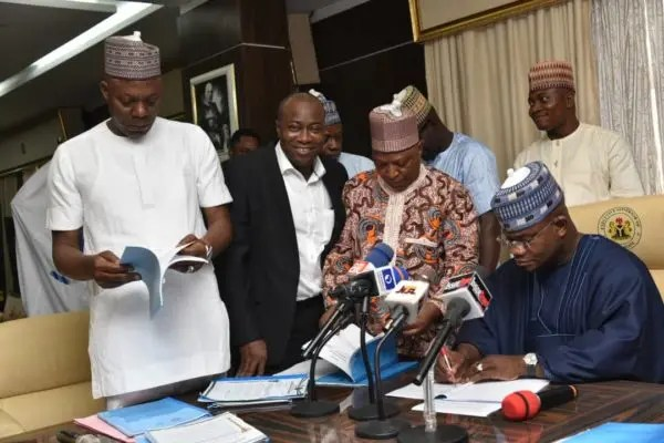 Gov. Bello signs health insurance, youth development commission bills, 6 others into law