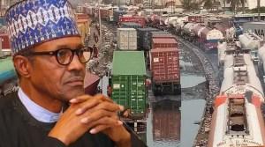 President Buhari apapa