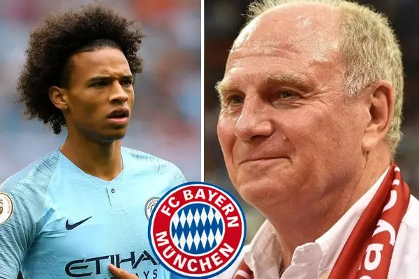 Bayern Munich want to sign Manchester City's Leroy Sane this summer