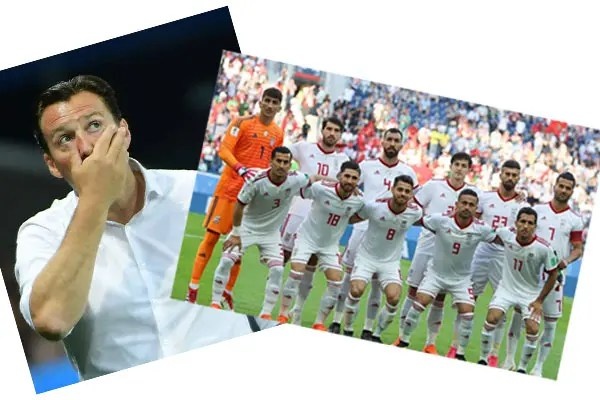 Belgium's Wilmots to coach Iran #Nigeria Marc Wilmots