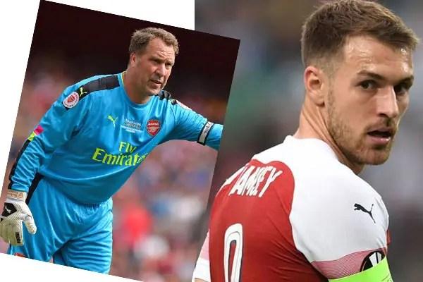 Seaman, Ramsey, Juventus