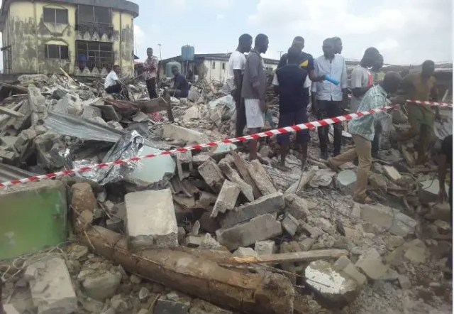 Two-storey building collapses in Jos - Vanguard News