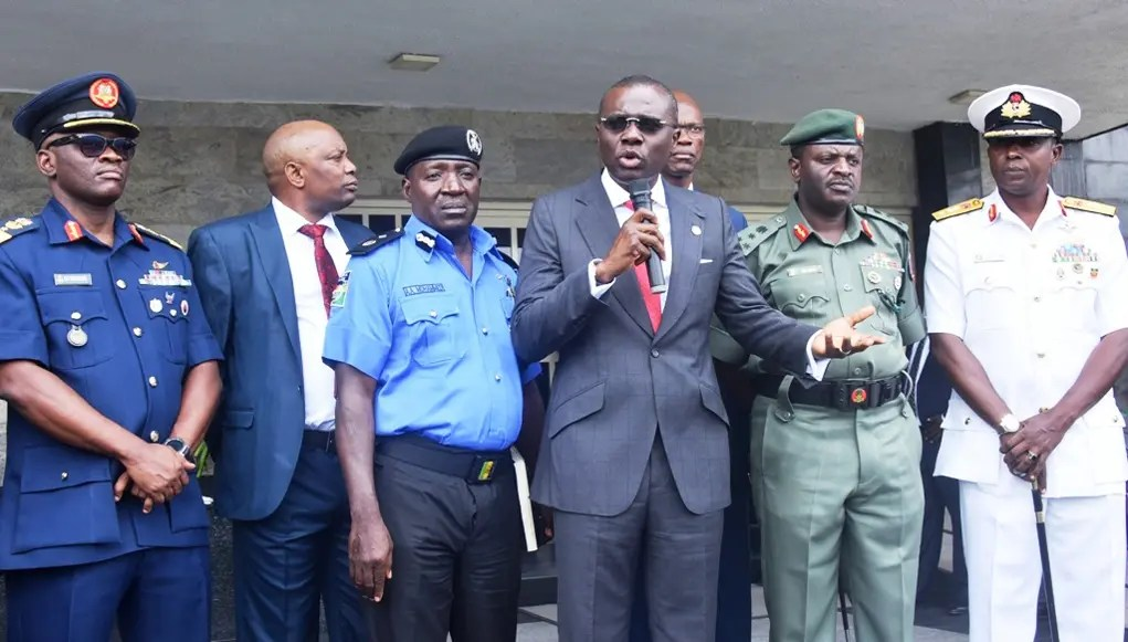 Sanwo-Olu meets security chiefs, promises to revamp state security architecture