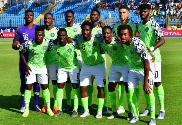 eagles-afcon  Nigeria humble Sudan 5 nil to qualify for Under-23 AFCON #Nigeria eagles afcon 1 e1561589025515