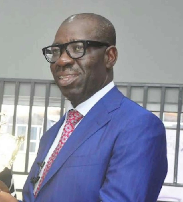 Edo State Governor, Mr. Godwin Obaseki