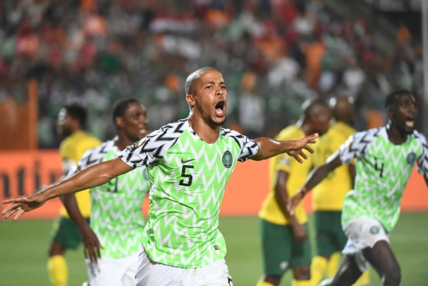 nigeria vs south africa AFCON 2019