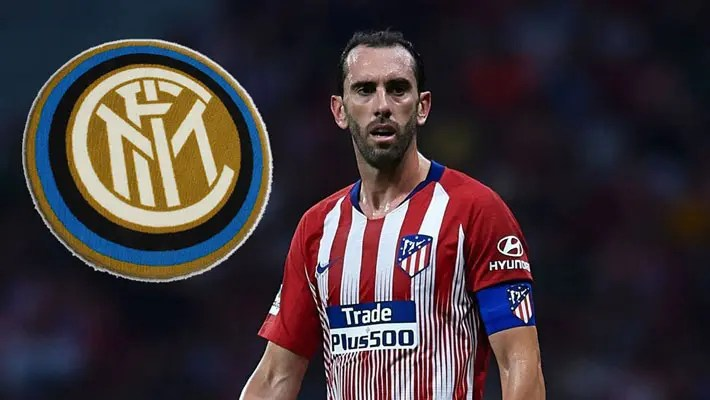 Inter Milan confirm signing of Atletico Madrid defender Diego Godin