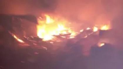 Fire razes Maiduguri's Kasuwar Jago, GSM market