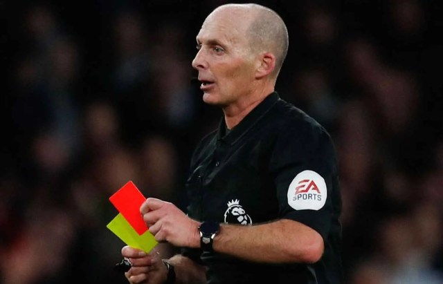 MIke Dean, Premier League