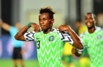 Samuel Chukwueze Super Eagles
