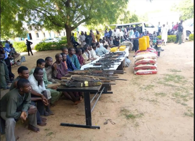35 kidnappers, cattle rustlers