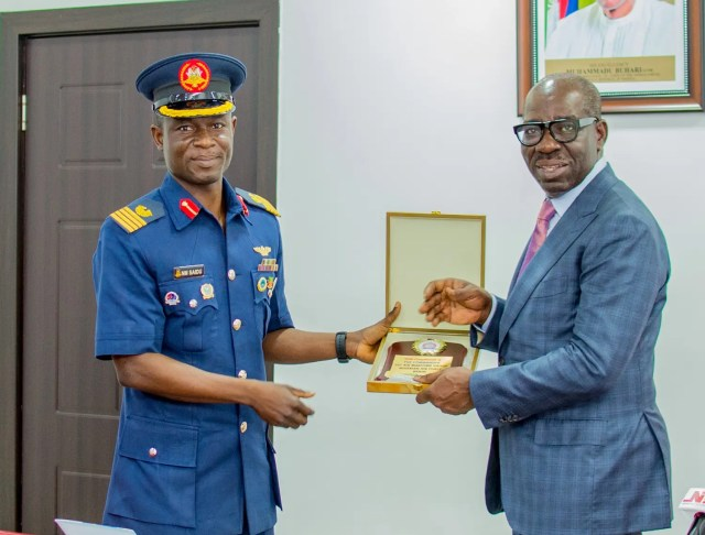 Kidnappings : Obaseki, Nigerian Air Force set to partner on periodic aerial surveillance
