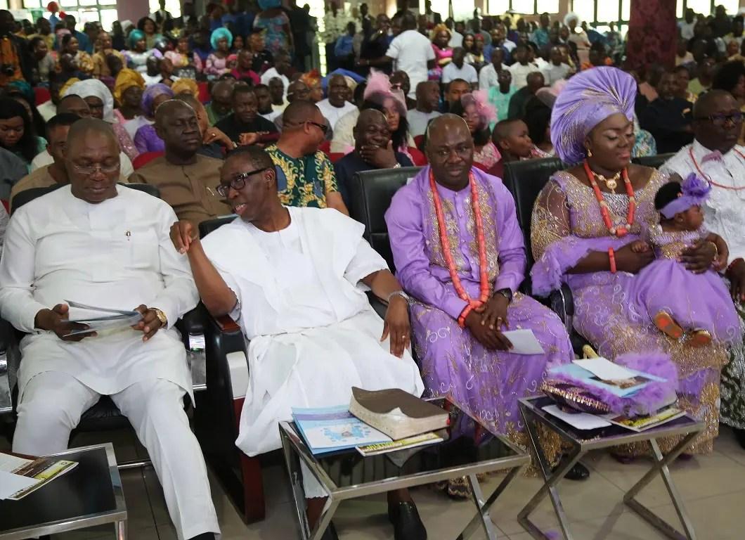 Vanguard News Okowa admonishes christians to always Pray for those i