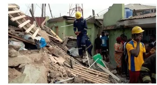 Building collapse in Lagos, NBC