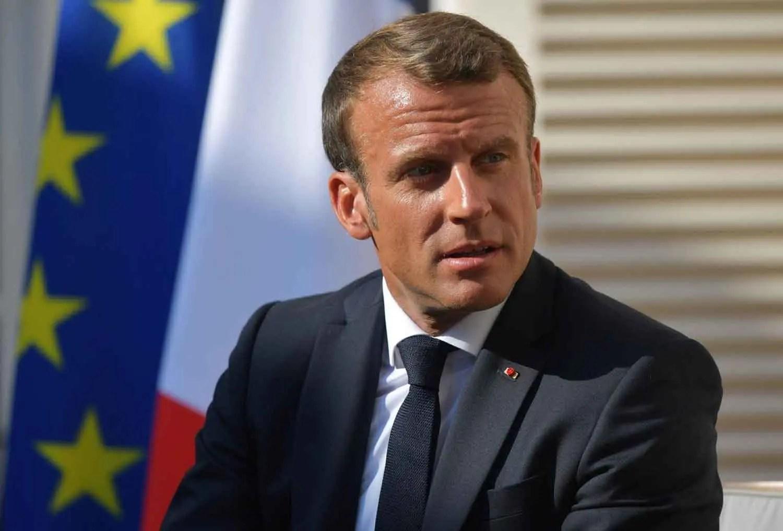 British PM Boris Johnson Meets with French President Emmanuel Macron