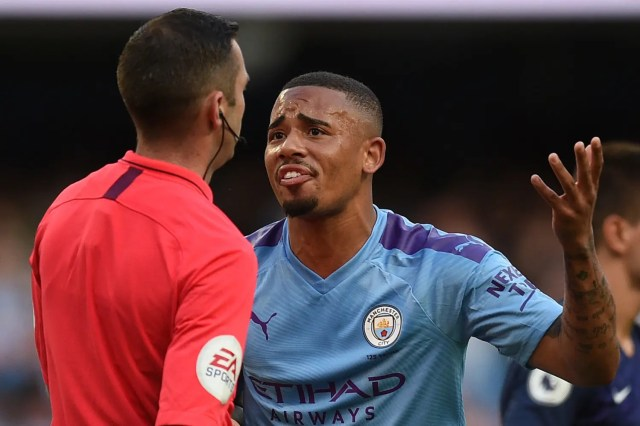 Premier League: VAR denies Man City against Tottenham again in 2-2 draw
