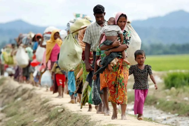 Rohingya, sexual violence