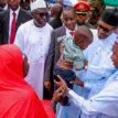 Photos: Buhari visits IDPs in Katsina