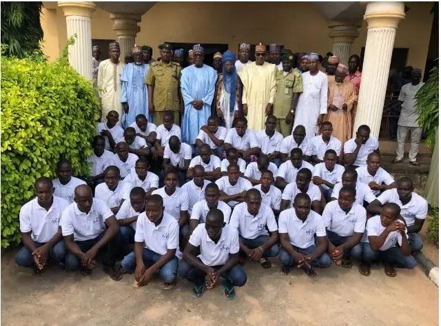 Eid Mubarak: Dujima Adamawa, Halilu secures release of 41 prisoners