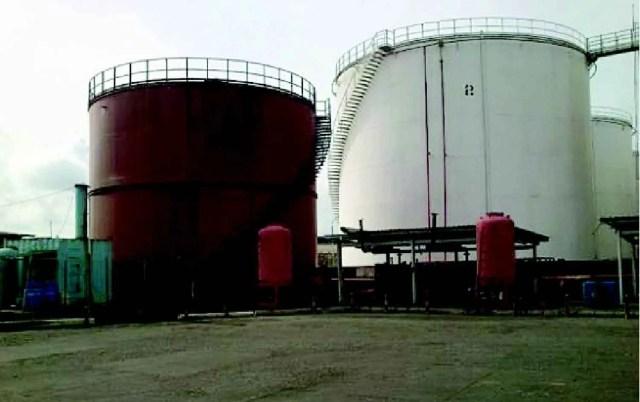 Satellite Town: Sitting on 2 5 trillion litres of fuel awaiti