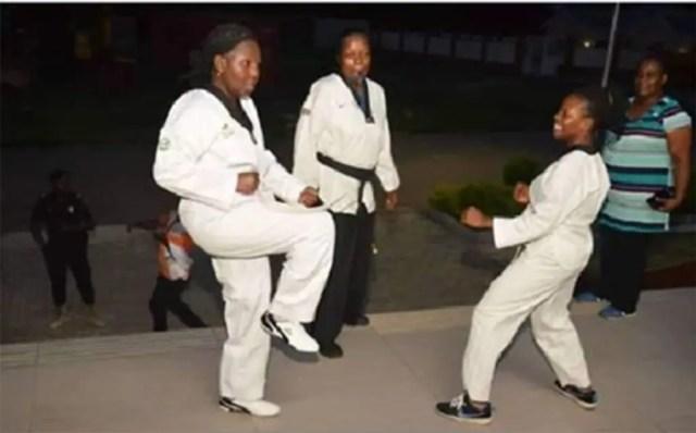 RAPE CASES: Mrs Akeredolu trains Ondo women in self deence