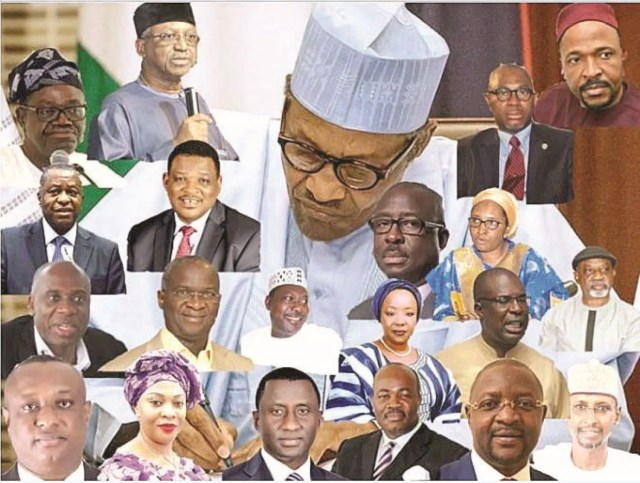 Ministers of the Fed Rep of Nigeria and Portfolios