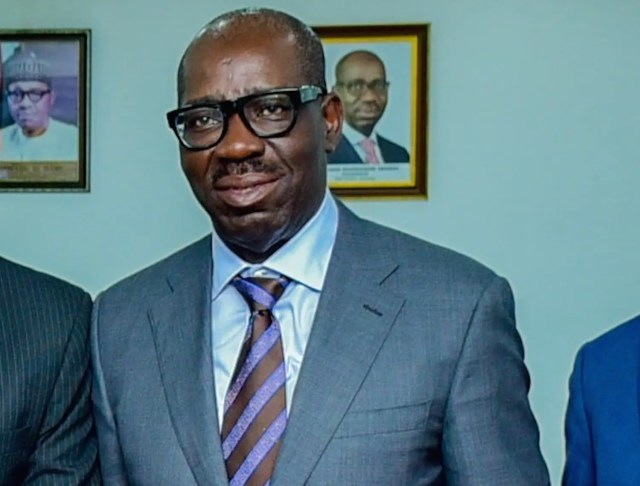 Obaseki commiserates with Banire over mother's death
