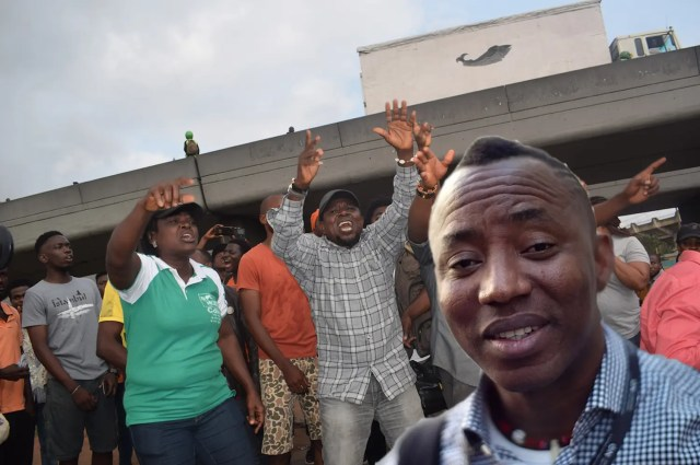 Revolution now Omoyele Sowore