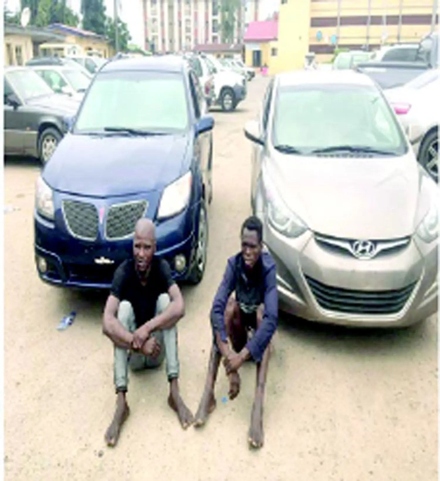 We use sticks to cut burglary proof during operation — Robbery suspects - Vanguard