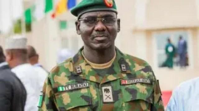 Exercise atilogwu udo 1: Buratai warns soldiers against molesting residents