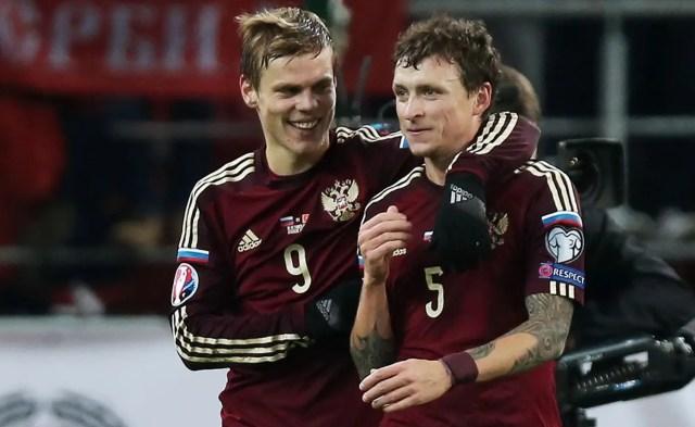 Russian footballers