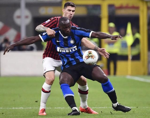 Lukaku helps keep perfect Inter top with derby triumph - Vanguard News