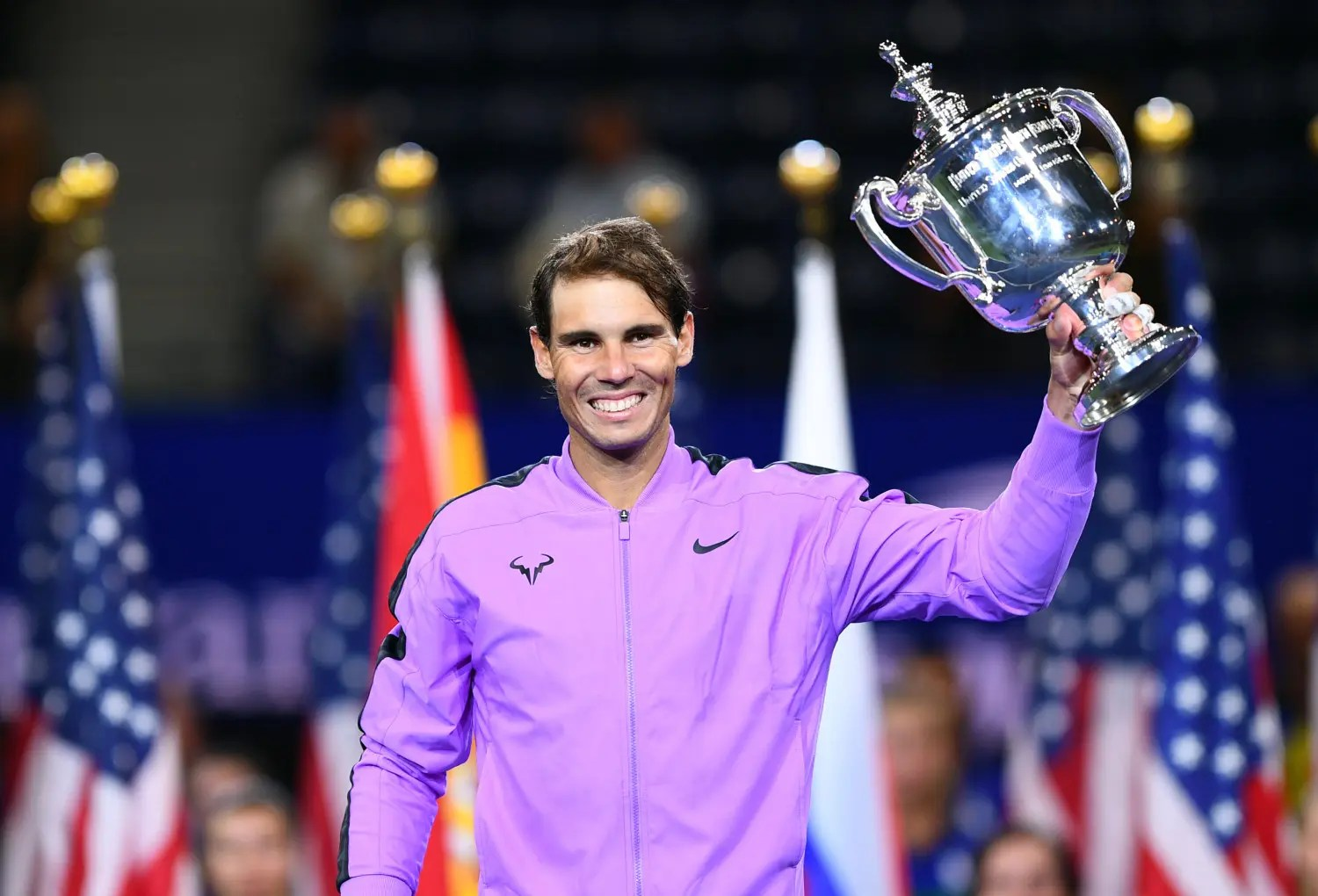 Rafael Nadal survives Daniil Medvedev charge to win US Open