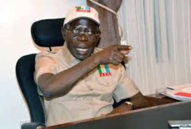 Why Nigeria's economy will grow faster under Buhari — Oshiomhole