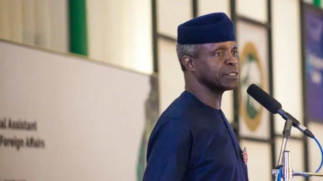 Nigeria must jettison quota system for meritocracy - Osinbajo